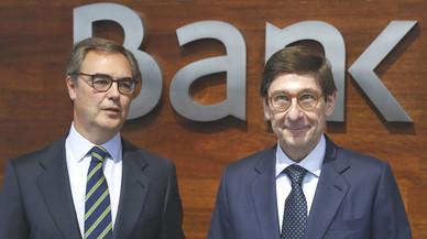 Bankia va guanyar 739 milions fins al setembre, l'1% més
