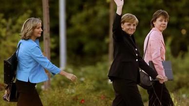 Merkel y sus fieles escuderas