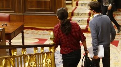 Iglesias i Errejón, negociacions en la moqueta