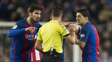 "Suárez: ""Me'n ric de la segona targeta, no era ni falta"""