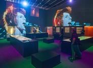 Bowie, en un objeto de arte pop
