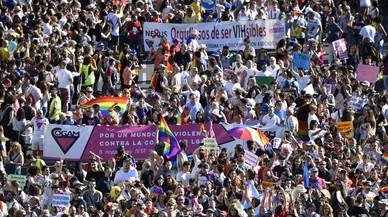 La desfilada gai de Madrid i les llibertats