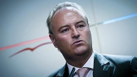El substitut Alberto Fabra, alcalde de Castelló i pròxim president valencià, dimecres.