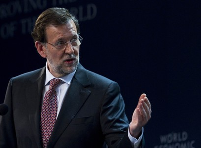 Mariano Rajoy, durante su intervencin en el Foro Econmico Mundial, el martes en Puerto Vallarta. 