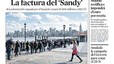 Portada de 'La Vanguardia'. 01-11-2012. 