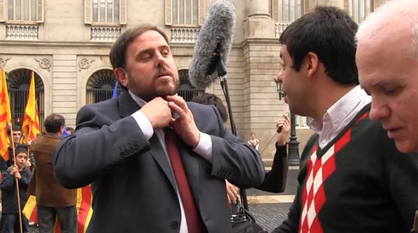 ERC cuelga el making off de su spot de campaña