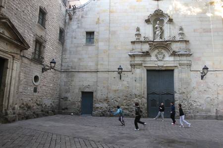Plaza de Sant Felip Neri.