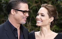 Brad Pitt y Angelina Jolie, el pasado mayo en Londres.