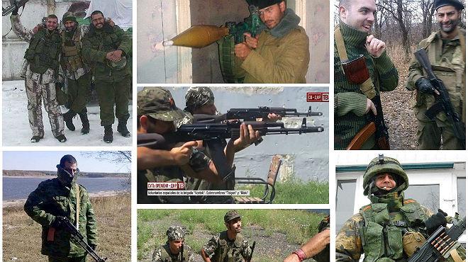 Im�genes de la operaci�n de la Polic�a Nacional, en la que ha detenido a ocho espa�oles que hab�an vuelto tras combatir en Ucrania con los prorrusos