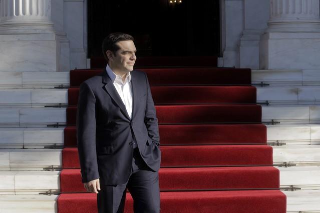 Alexis Tsipras, en Atenas