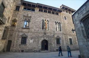 Las dependencias del Govern en la calle de la Pietat, 2 de Barcelona, donde está la sede de tres delegaciones