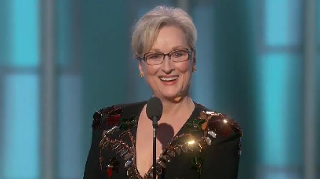 Discurso de Meryl Streep en los Globos de Oro 2017