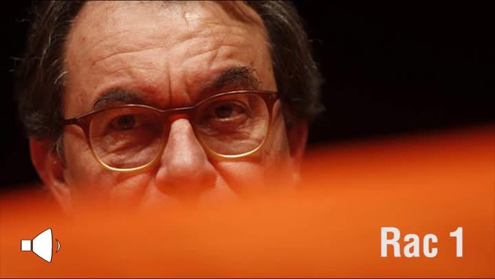 Entrevista radiofónica a Artur Mas