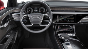 Detalle interior del nuevo Audi A8.