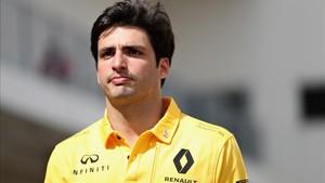Carlos Sainz debuta con Renault en Austin