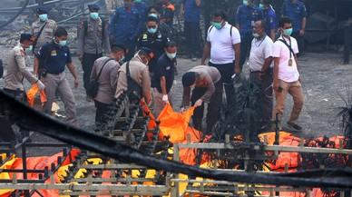 Almenys 47 morts per una explosió en una fàbrica d'Indonèsia