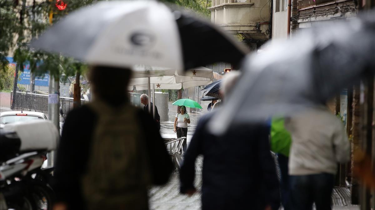zentauroepp40600920 barcelona 19 10 2017 sociedad dia de lluvia en la ciutat de171208140307