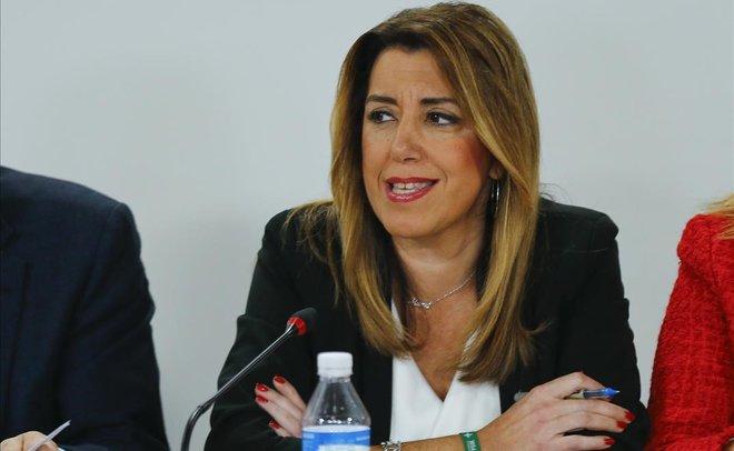 susana díaz rechaza dimitir pide apoyo ciudadanos
