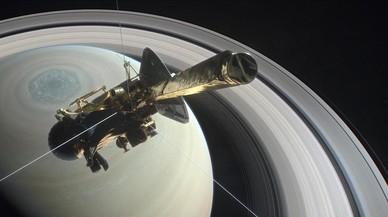 La sonda 'Cassini' se despide de Saturno | El Grand Finale en directo