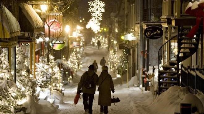 La calle de Petit-Champlain, en Qu�bec