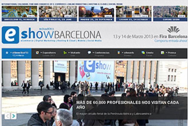 La feria y congreso de los negocios eShow estar� en Fira de Barcelona los pr�ximos 13 y 14 de marzo