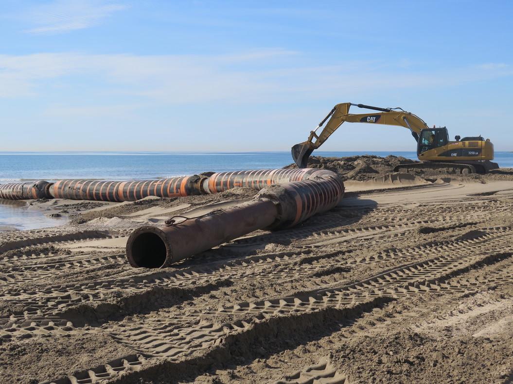 Destrucción del fondo marino en Vilaseca