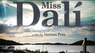 Detalle del cartel de 'Miss Dalí', de Ventura Pons.