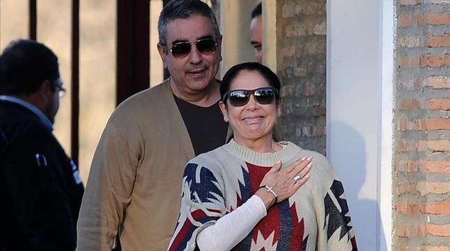 Isabel Pantoja disfruta ya de la libertad condicional
