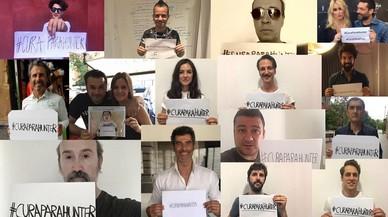 Rostros famosos hacen viral el 'hastag' solidario #CURAPARAHUNTER