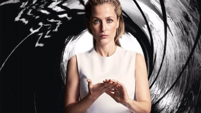 Gillian Anderson es postula com la nova James Bond