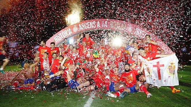 Girona, per fi de Primera
