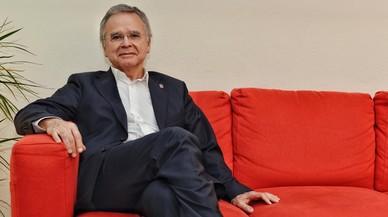 Joan Elias, catedrático de Matemáticas y candidato a rector de la Universitat de Barcelona.