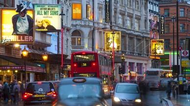 Imagen del West End de Londres.