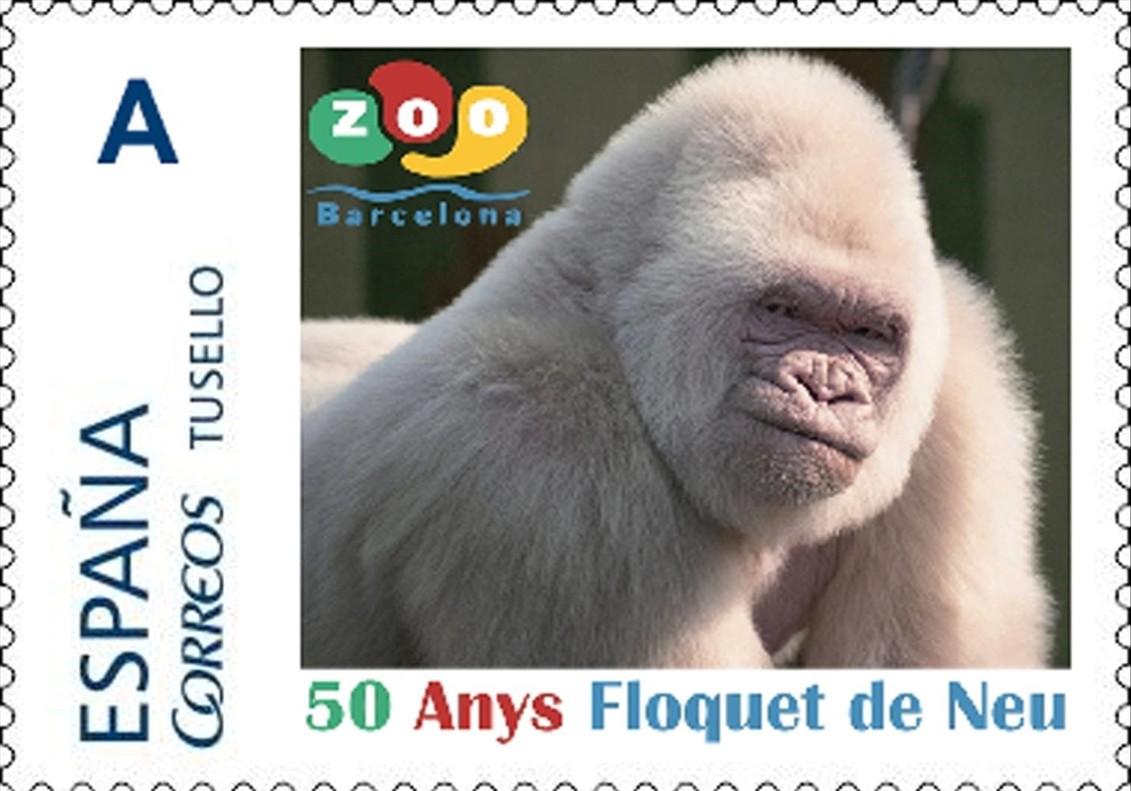 Floquet de Neu ja té el seu segell de Correus