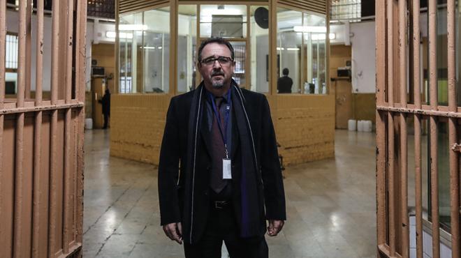 Entrevista al nuevo director de la cárcel Modelo, Josep Font.