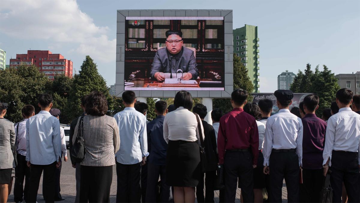"""Kim Jong-un amenaza con """"domar con fuego al viejo chocho estadounidense"""" de Trump"""