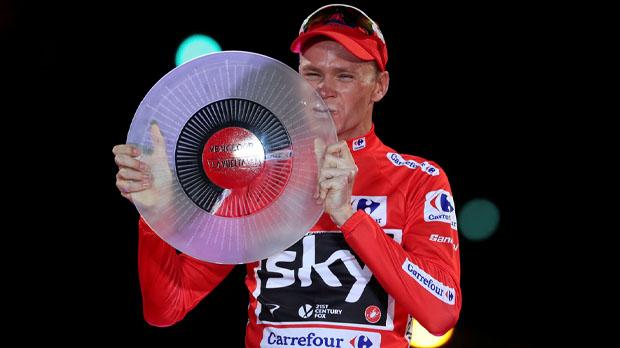 Chris Froome, positiu per dopatge a la Vuelta 2017
