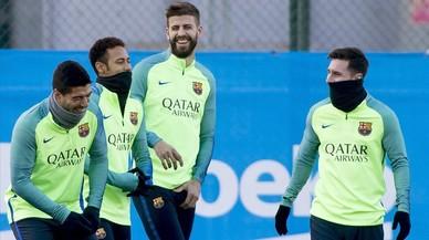 Barça, hivern calent