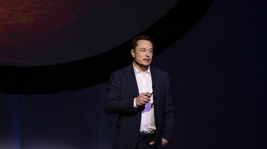 El empresario Elon Musk, en una presentación el pasado septiembre.
