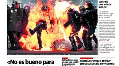 El PP cau per la corrupció 12 escons a Madrid, titula 'El País'; en guanya 3, canta 'La Razón'