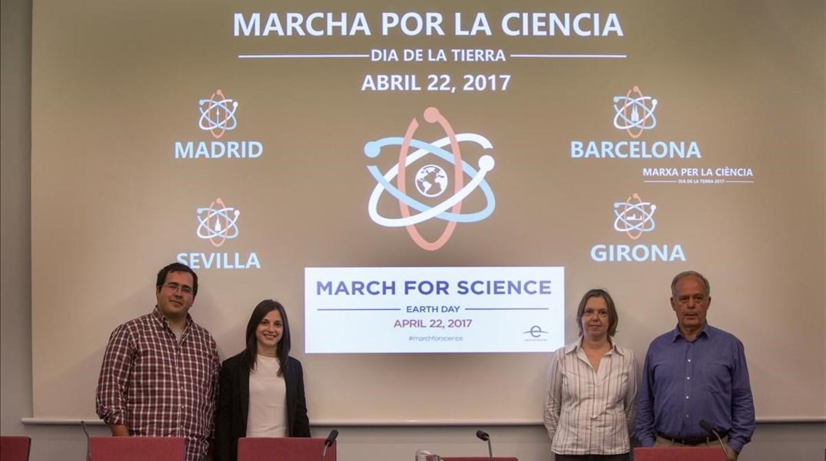 Cinco ciudades españolas se suman a la Marcha por la Ciencia