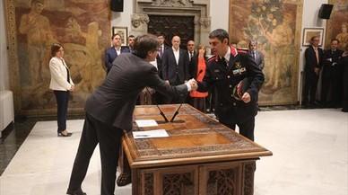 Trapero niega que Puigdemont le haya propuesto ir como número tres de la lista de Junts per Catalunya