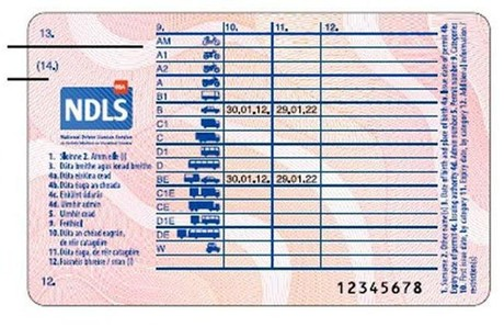Entra en vigor el nuevo carnet de conducir �nico europeo