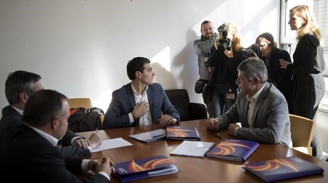 Ciudadanos pide al PSOE que sea fiel al pacto firmado