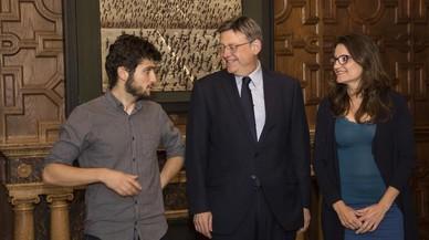 PSPV, Compromís i Podem presumeixen del seu pacte asimètric 'a la valenciana'