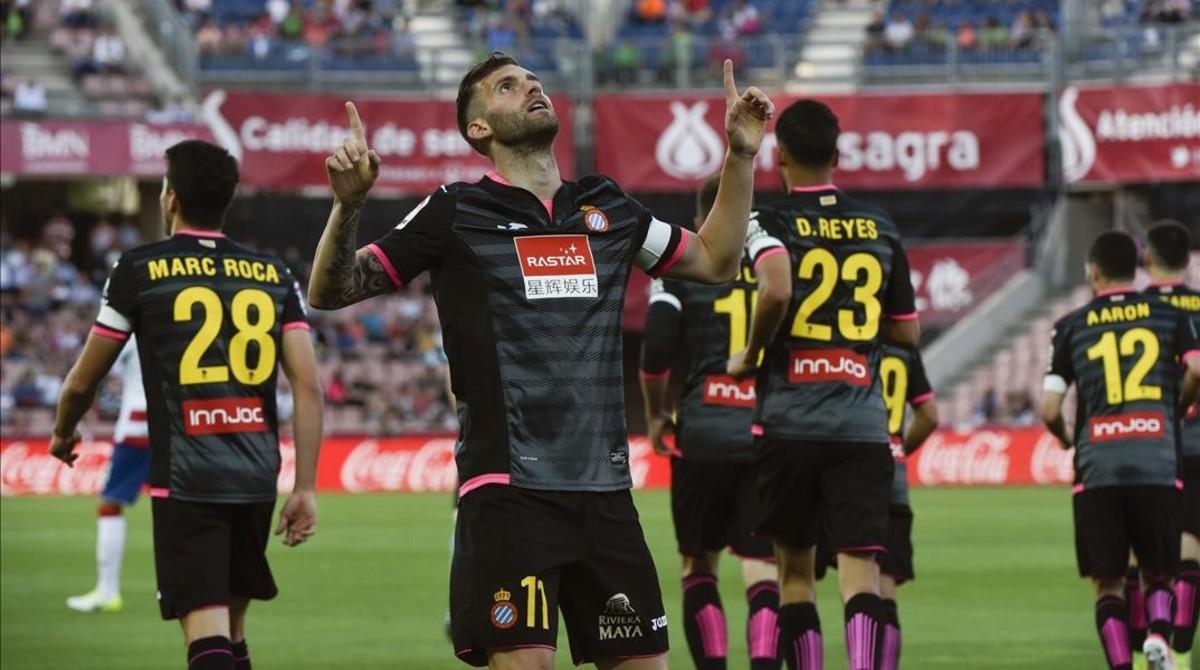 Un Espanyol eficaz se despide con victoria en Granada