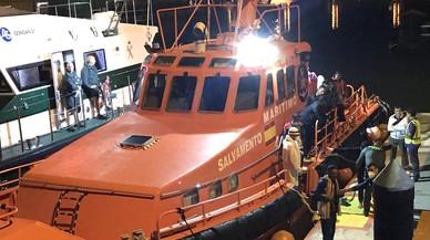 Rescatats 59 immigrants, 20 d'ells menors, en aigües de l'Estret