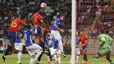 'La Roja' firma una golejada d'escàndol davant Liechtenstein