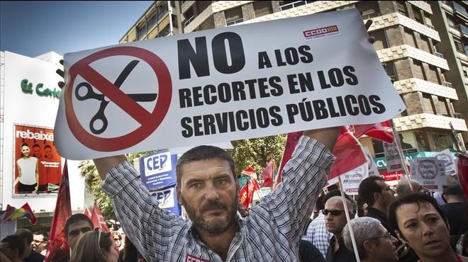 L'ocupació pública oscil·la entre el 9% de tots els ocupats a Catalunya i el 23% a Extremadura