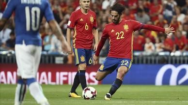 El geni d'Isco destrossa Itàlia (3-0)